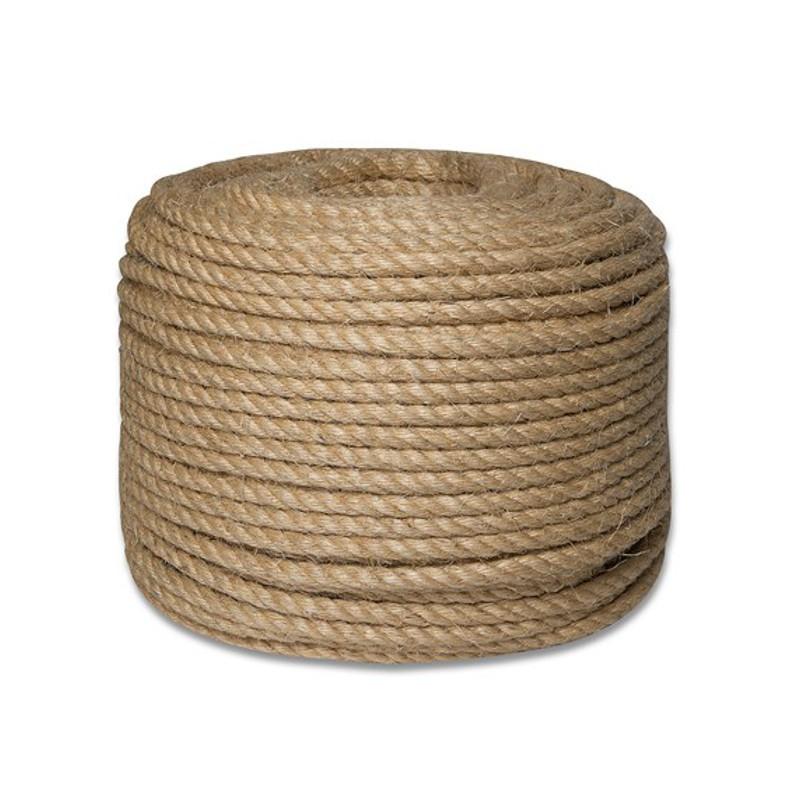 Верёвка джутовая d=12мм    50м