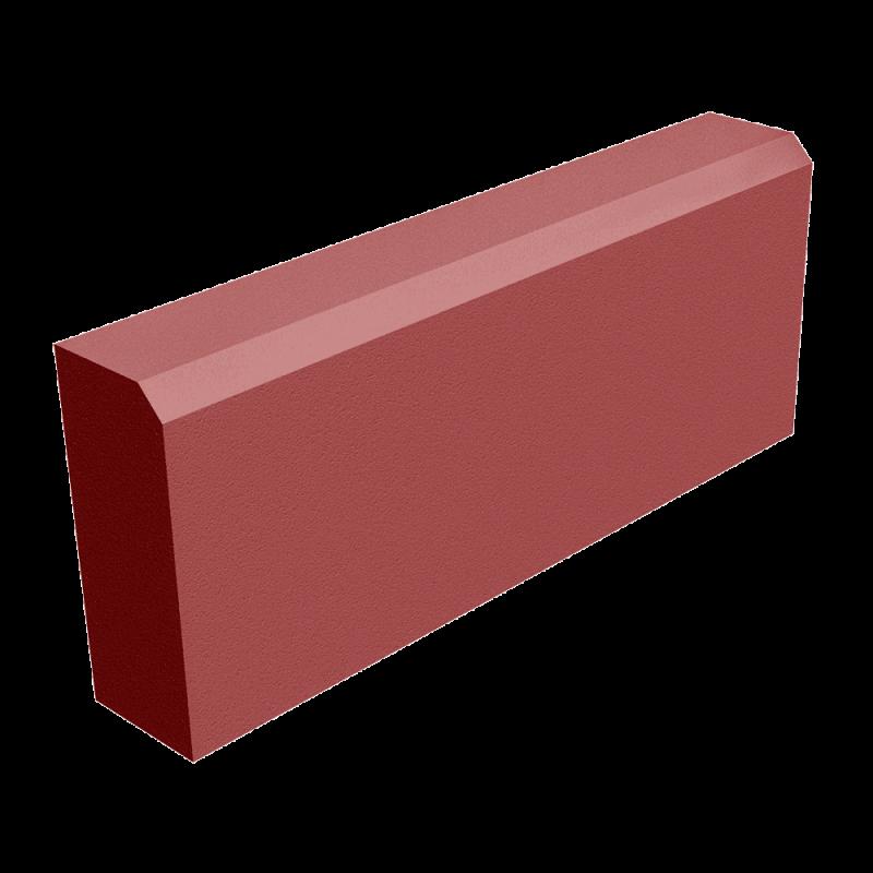 Бордюр 60х200х500 красный