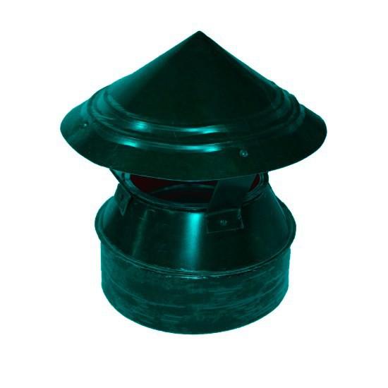 Флюгарка зеленая d=120