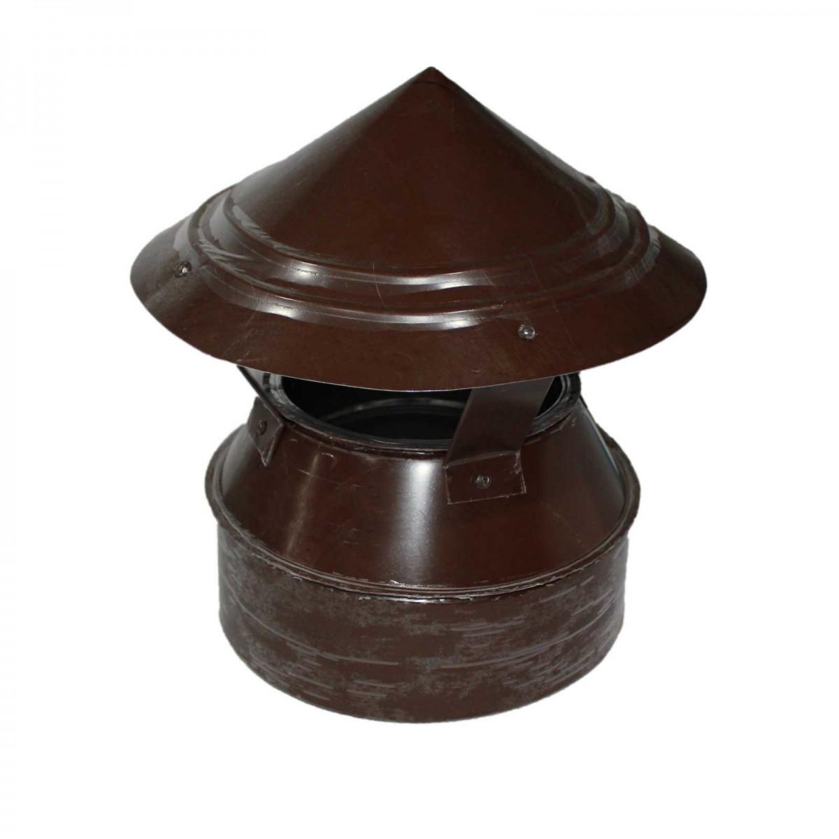Флюгарка шоколад d=120