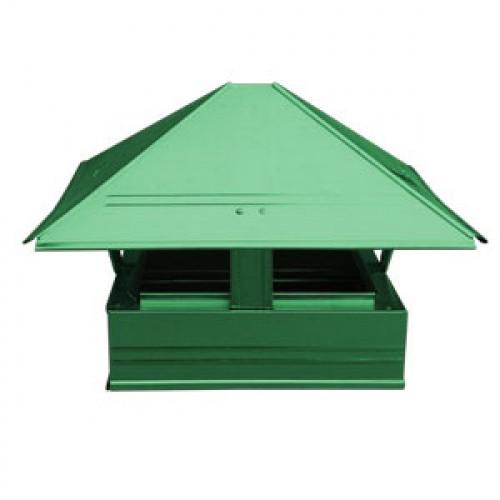 Зонт   40х40 зеленый 1шт.