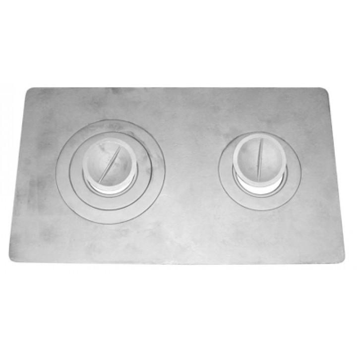 Плита 2-комф. П-2-3(710х410)